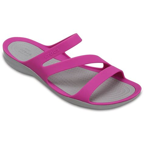 croc womens sandals crocs 203998 swiftwater women s sandals shoes by mail