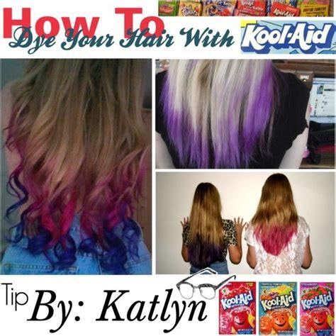 kool aid hair dye on pinterest kool aid dye hair and dye hair with kool aid cool hair pinterest summer