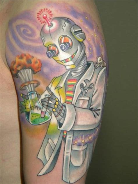 tattoo robotic shoulder shoulder fantasy robot tattoo by bearcat tattoo