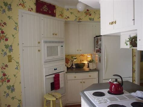 cottage kitchen wallpaper cozy cottage - Cottage Kitchen Wallpaper
