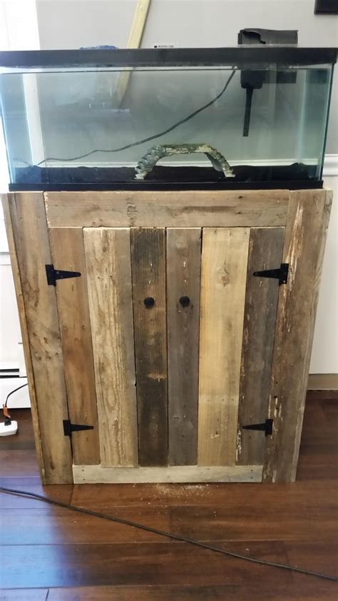 Stand Galon 20 gallon fish tank stand made of pallets diyscoveries
