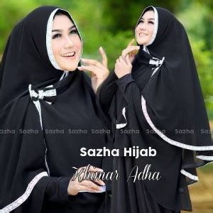 Promo Jilbab Khimar Sazha Renda Pita jilbab khimar adha by sazha khimar jilbabbranded biz