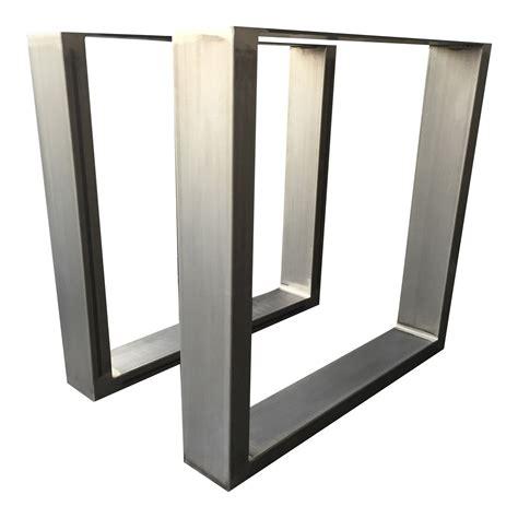 gestell tisch design tischgestell rohstahl tug 306 tischuntergestell