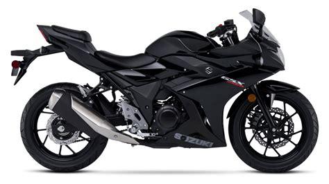 suzuki motorcycle black 2018 suzuki gsx250r review top speed