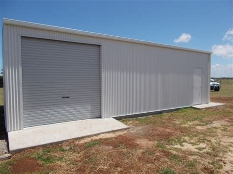 completed enclosed shed