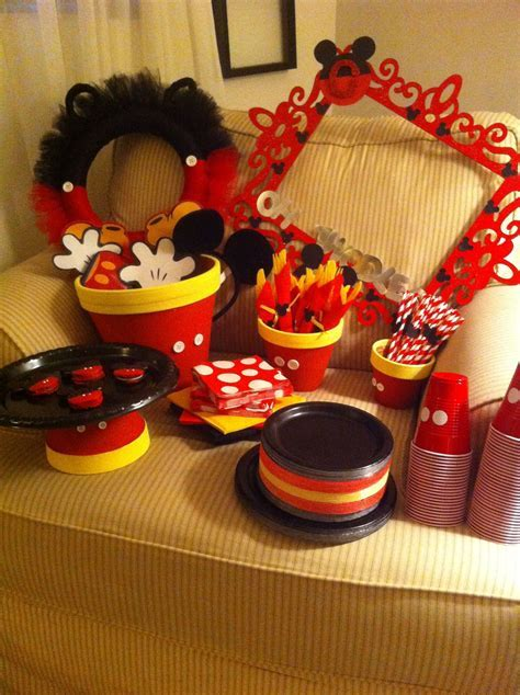 Tips: Mickey Mouse Party Ideas For Your Great Birthday
