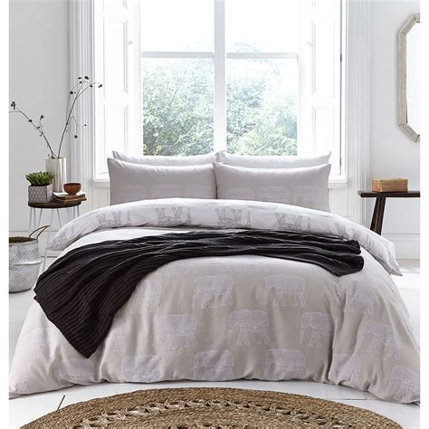 elephant bed sheets catherine lansfield elephant bedding set multi iwoot
