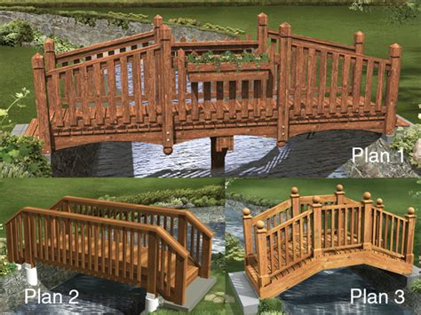 yard bridges ardmore manor bridge designs plan 002d 3003 house plans