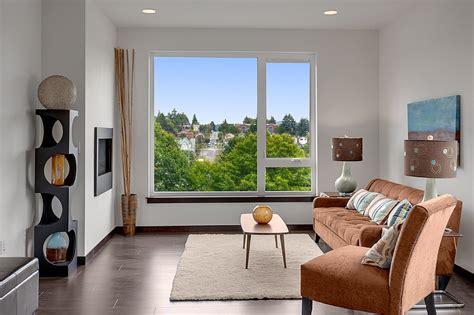 Staging Living Room Furniture by Home Staging Seattle Furniture Rental Ballard Bellevue