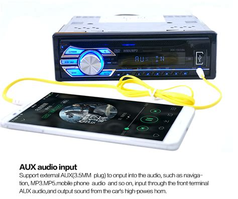 audio format supported by car cd player dropship 1563u 12v car audio stereo support usb sd mp3
