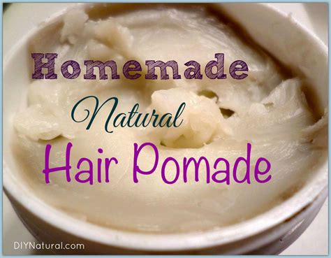 Pomade Cook Grease a pomade recipe that is and non greasy