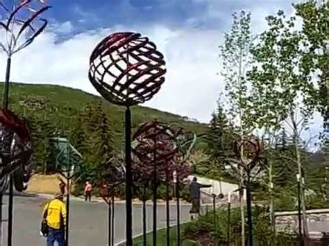 Windart by Kinetic Wind Sculptures Vail Colorado Youtube