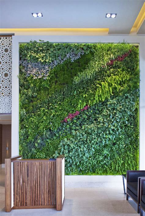 quiet cornerliving wall vertical garden benefits quiet