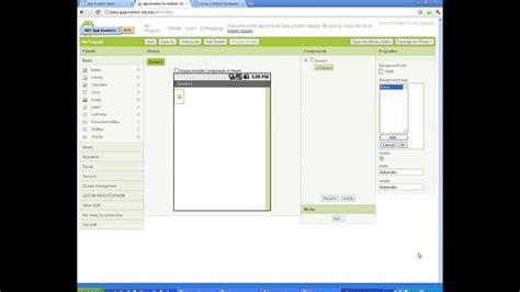 layout en app inventor videotutorial 03 parte1 dise 241 ando un juego en app