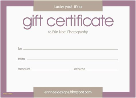 Editable Gift Card Template by Editable Certificate Template Images Professional Report