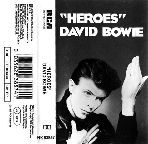 testo heroes david bowie traduzione david bowie heroes cover culture the best of sleeve