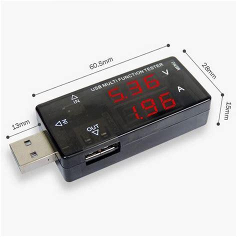 usb test digital display usb multifunction tester 3v 30v mini
