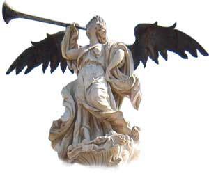 imagenes alegorias mitologicas estatua de la fama antonio camel