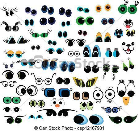 imagenes de ojos felices ojos caricatura vector gratis imagui