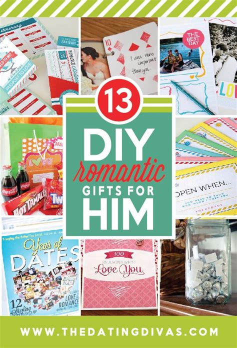 best 25 diy romantic gifts for him ideas on pinterest