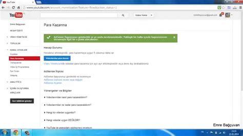 adsense google youtube google adsense youtube ile kayıt olmak ilişkilendirme