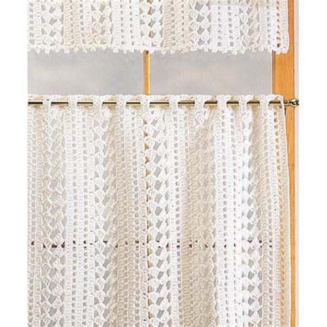 crochet cafe curtains pattern 1000 ideas about cortinas crochet on pinterest crochet