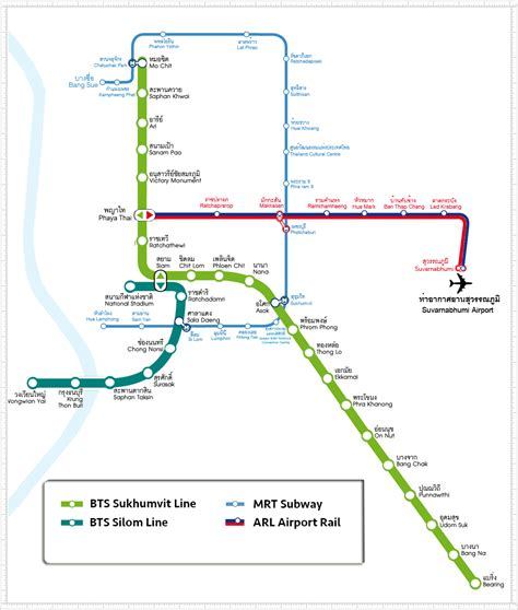 bts bangkok bangkok bts map bangkok skytrain map a guide to autos post