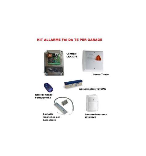 box auto fai da te allarme garage fai da te con kit allarme per garage box