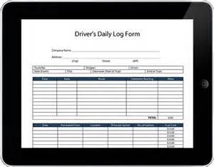Drive Templates by Daily Driver Log Template Excel Sheet Business