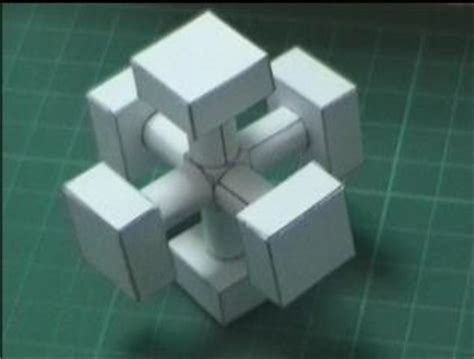 How To Make A Paper Rubik S Cube - dror s paper cube
