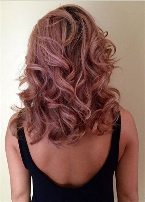 rose gold hair dye dark hair best 25 gold hair colors ideas on pinterest rose gold