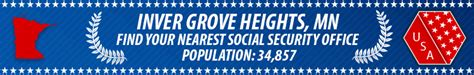 Minneapolis Social Security Office by Inver Grove Heights Mn Social Security Offices Ssa
