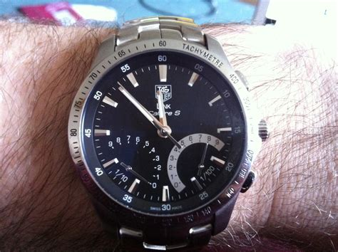 Tag Heuer Link Calibre S alignment on a tag heuer link calibre s bruce