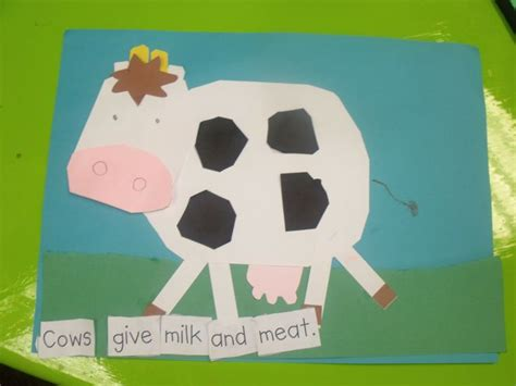 How To Make Animals Out Of Construction Paper - make a farm animal mural students make farm animals out