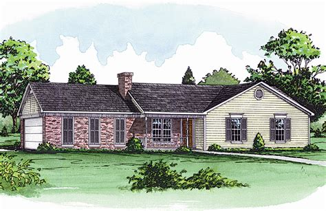 traditional ranch house plans hannegan traditional ranch home plan 092d 0077 house