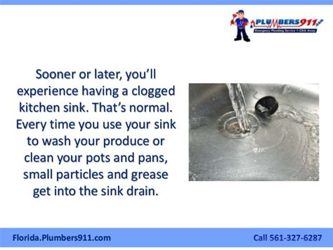 Clear Clogged Kitchen Sink How To Clear A Clogged Kitchen Sink