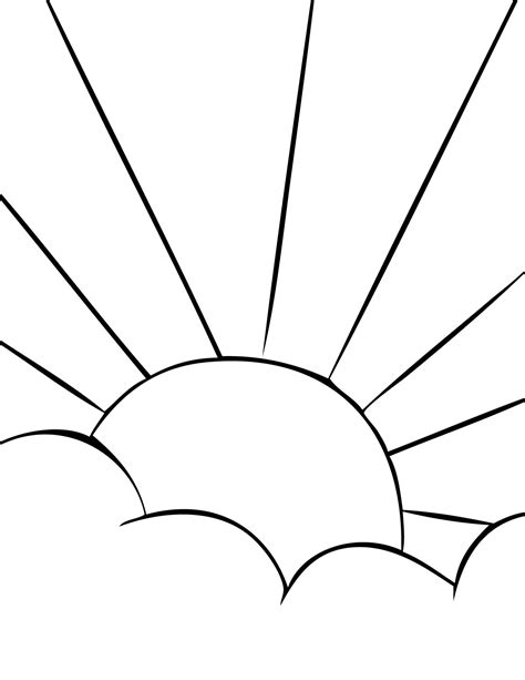 what color is sun sun color and print coloring pages