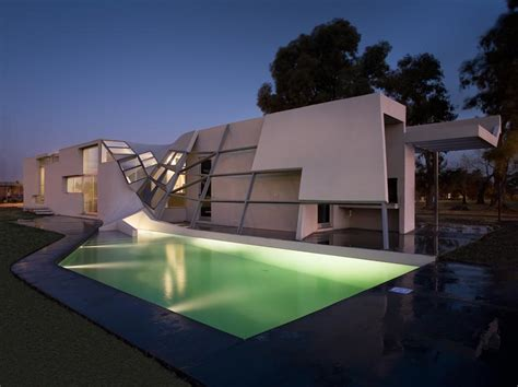 very strange and unusual house design fyf residence by p