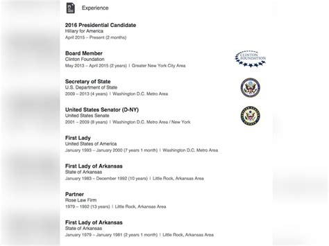 Clinton Resume by Clinton Resume Resume Ideas
