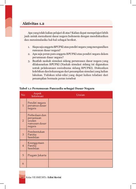Buku Ppkn buku ppkn kelas vii smp kurikulum 2013