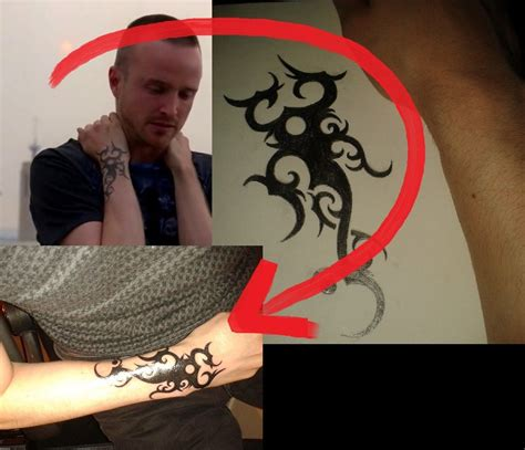 jesse pinkman tattoo pinkman s by confessed user of deviantart