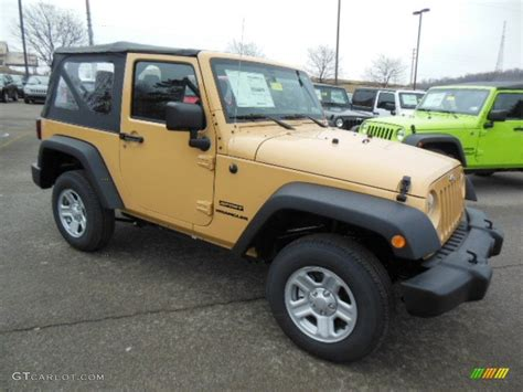 beige jeep jeep wrangler dune autos post
