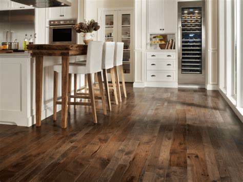 gray floors with hickory cabinets 7 beautiful kitchens with antique wood flooring pictures