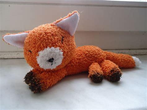 sock plush fox sock plushie fox socks socks and foxes