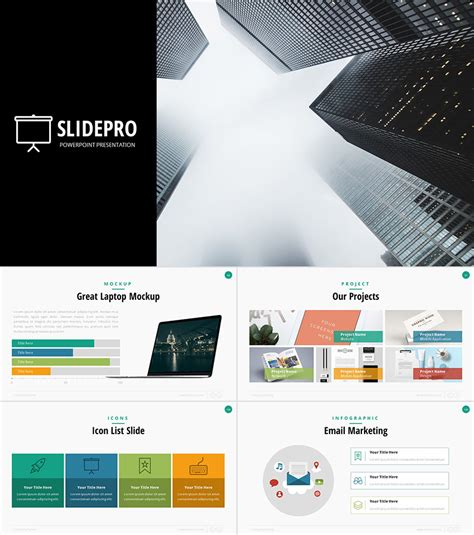 22 Professional Powerpoint Templates For Better Business Presentations Business Slide Presentation Template