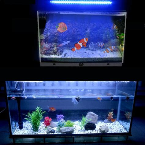 Buy 30 Led Aquarium Submersiblewhite Blue Light L Bar Blue Led Lights Aquarium