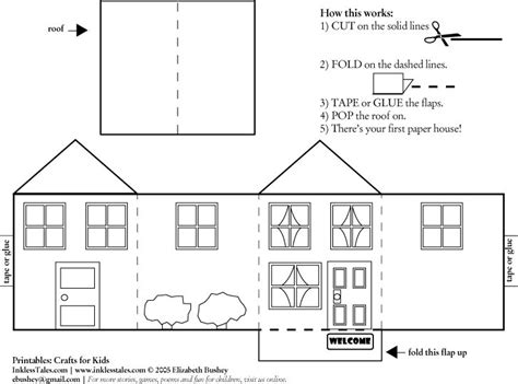 card stock house templates 187 best putz glitter house plans images on