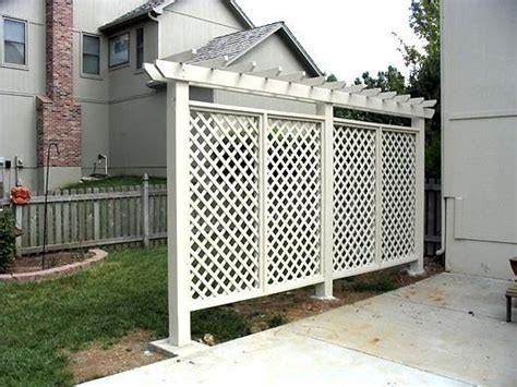 creative ideas  privacy screen   yard