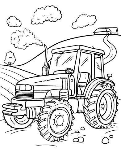 tractor coloring pages preschool printable tractor coloring page free pdf download at http