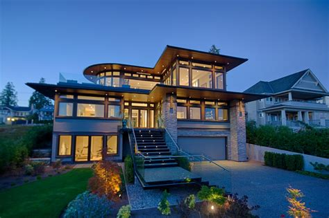 modern style house contemporary architecture hgtv